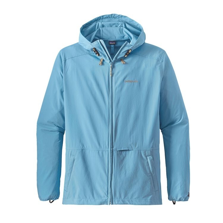 M'S STRETCH TERRE PLANING HOODY, Lite Electron Blue (LECB)