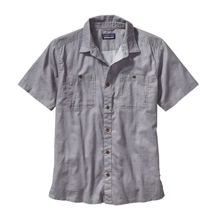 M'S BACK STEP SHIRT, Fisher: Drifter Grey (FSDG)