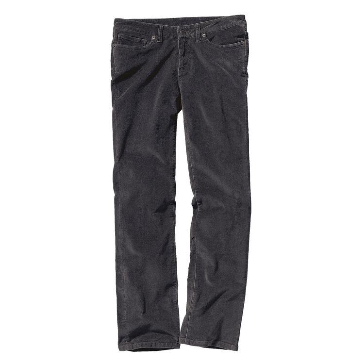 W'S CORDUROY PANTS - REG, Forge Grey (FGE-961)