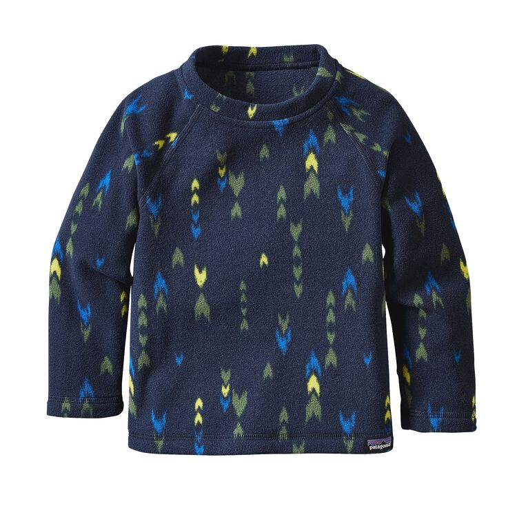 BABY MICRO D CREW, Wish Tails: Navy Blue (WTNV)