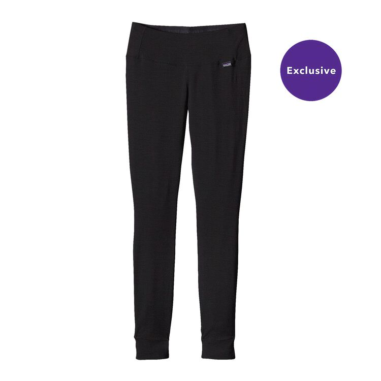 W'S MERINO MW BOTTOMS, Black (BLK)