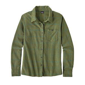 W's Heywood Flannel Shirt, Crafted Plaid: Buffalo Green (CBLG)