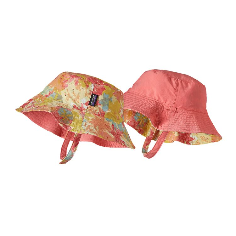BABY SUN BUCKET HAT, Neo Tropics Lite: Blazing Yellow (NBZY)