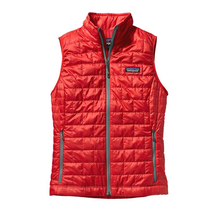 W'S NANO PUFF VEST, French Red (FRR)