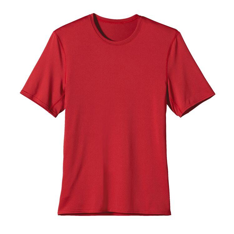 M'S CAP TEAM T-SHIRT, Crimson (CRI)