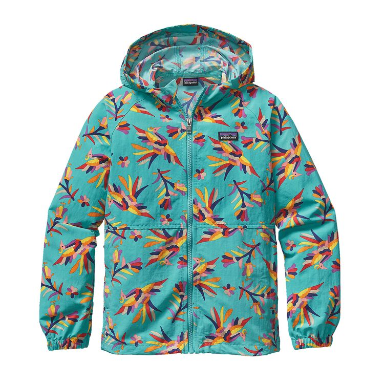 K'S BAGGIES JKT, Folk Tails: Howling Turquoise (FHTQ)