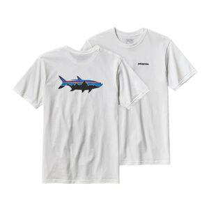 メンズ・フィッツロイ・ターポン・オーガニックコットン・Tシャツ, White (WHI)