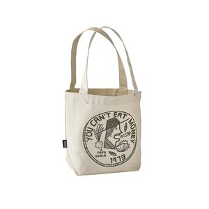 Mini Tote, Can't Eat Money: Bleached Stone (CEMS)