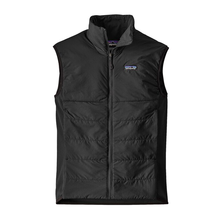M'S NANO-AIR LIGHT HYBRID VEST, Black (BLK)
