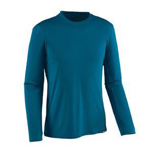 メンズ・ロングスリーブ・キャプリーン・デイリー・Tシャツ, Big Sur Blue (BSRB)