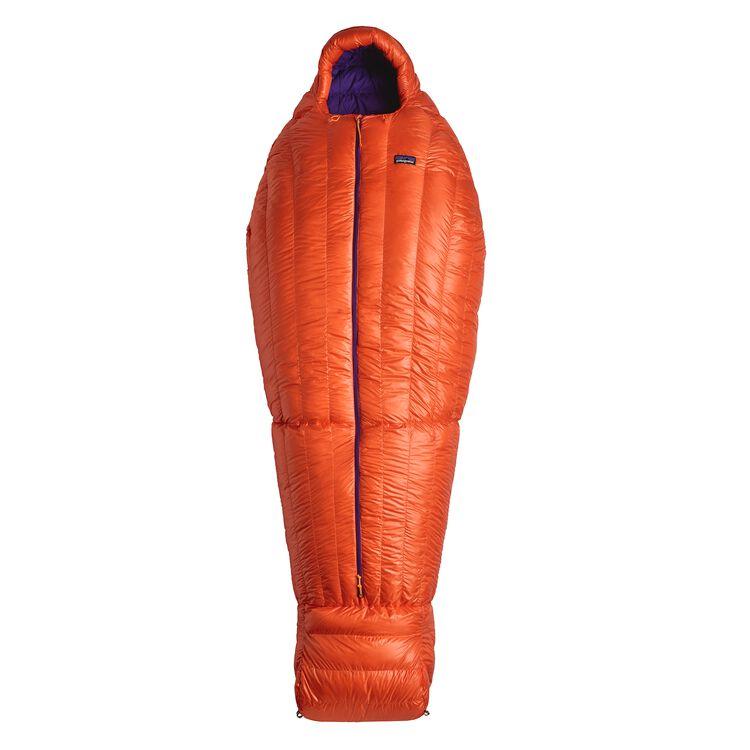850 DOWN SLEEPING BAG 19 F/-7 C - LONG, Campfire Orange (CMPO)