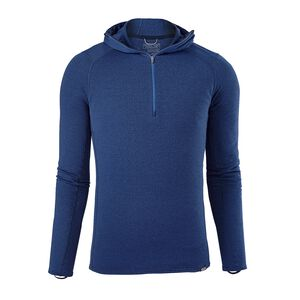 M's Capilene® Thermal Weight Zip-Neck Hoody, Viking Blue - Navy Blue X-Dye (VKNX)