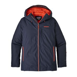 M's Primo Down Jacket, Navy Blue w/Paintbrush Red (NPTR)