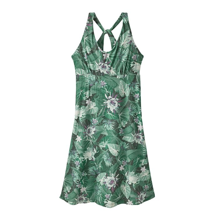 W'S MAGNOLIA SPRING DRESS, Yosemite Natives: Beryl Green (YONB)