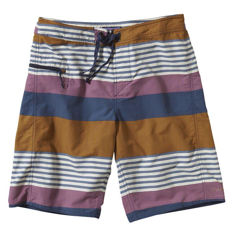 メンズ・ウェーブフェアラー・エンジニアード・ボード・ショーツ(53cm), Fitz Stripe: Tyrian Purple (FTYP)
