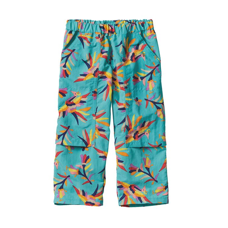 BABY BAGGIES SUMMIT PANTS, Folk Tails: Howling Turquoise (FHTQ)