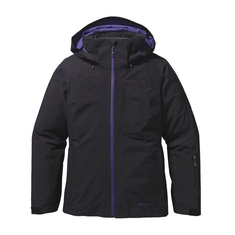 W'S INSULATED POWDER BOWL JKT, Black w/Concord Purple (BCNP)