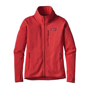 W'S PERFORMANCE BETTER SWEATER JKT, French Red (FRR)