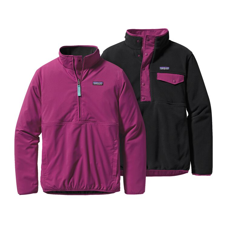W'S REVERSIBLE SNAP-T GLISSADE P/O, Violet Red (VIO)