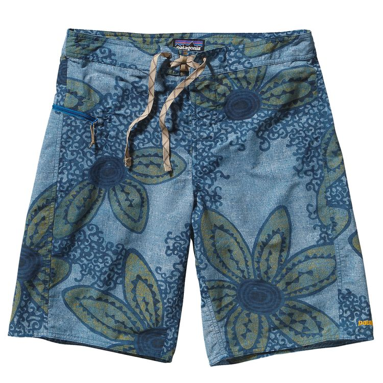 M'S WAVEFARER BOARD SHORTS - 21 IN., Gardener: Underwater Blue (GDRU)