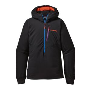 W'S NANO-AIR LIGHT HOODY, Black (BLK)