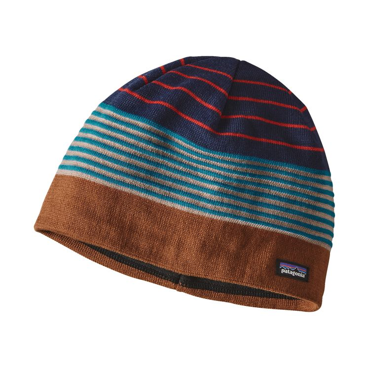K'S BEANIE HAT, Stripe of Stripes: Navy Blue (SINB)