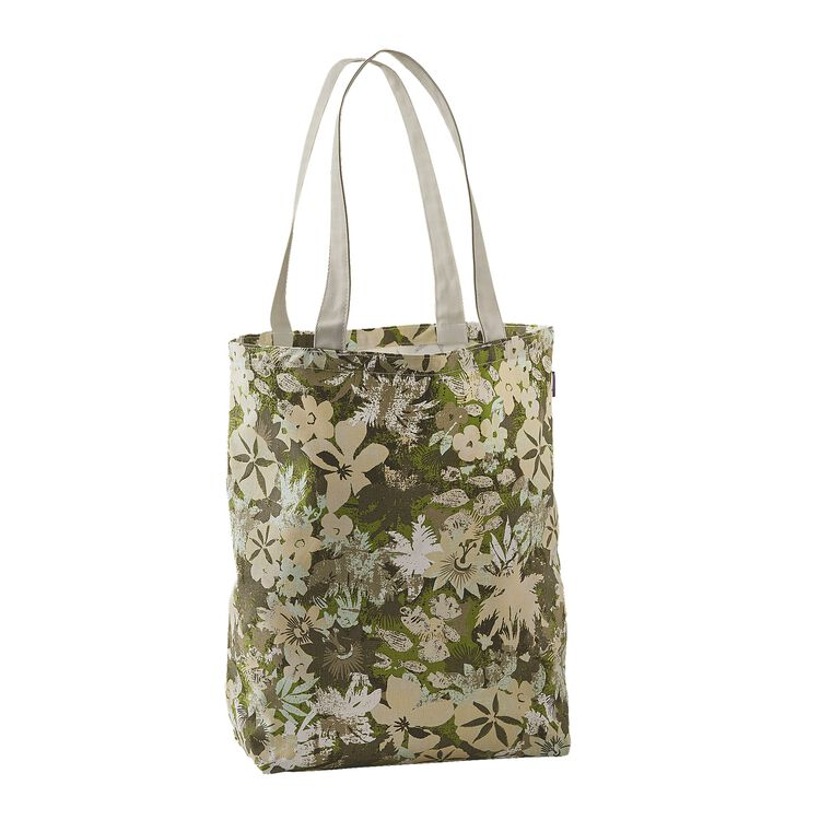 CANVAS BAG, Neo Tropics Grande: Supply Green (NSPG)