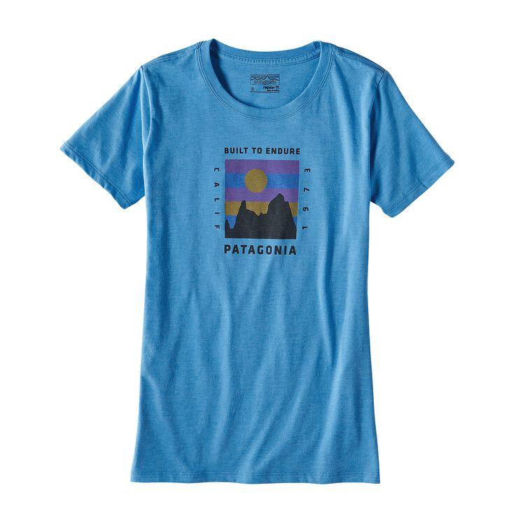 ウィメンズ・リッジ・ライズ・コットン/ポリ・クルー・Tシャツ, Radar Blue (RAD)