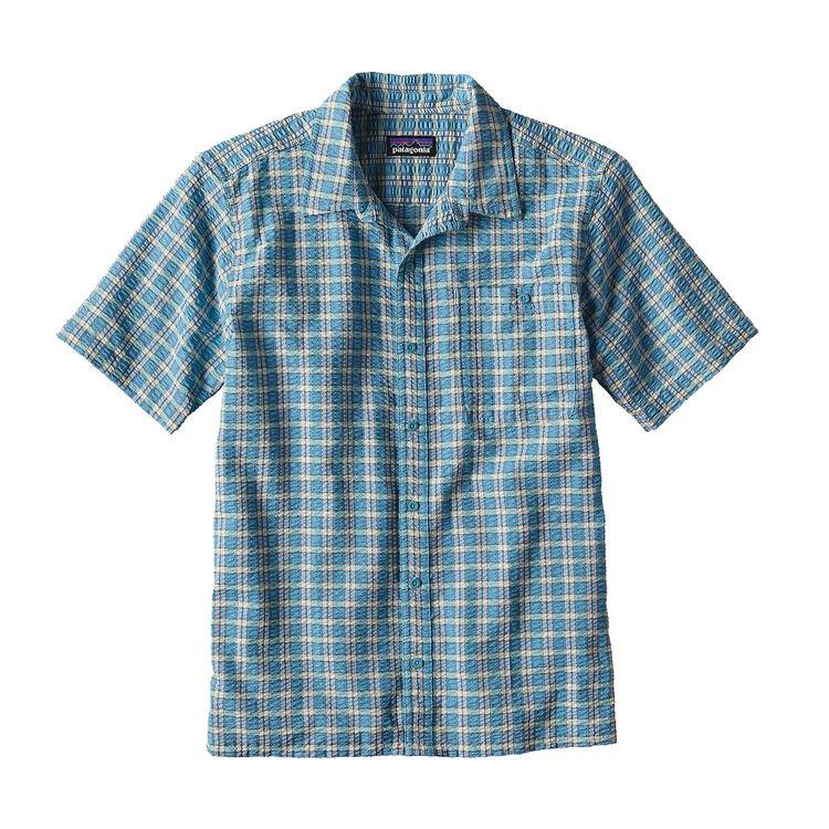 メンズ・パッカーウェア・シャツ, Whitewater Small: Cuban Blue (WWCB)