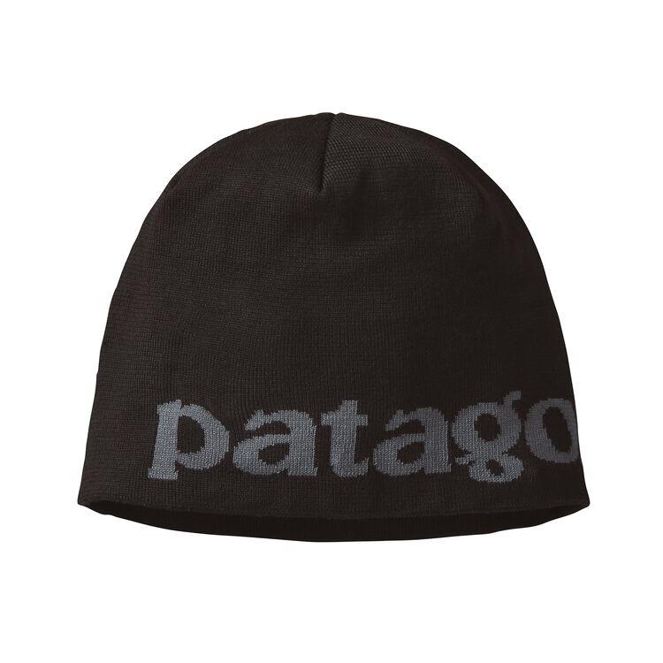 BEANIE HAT, Logo Belwe: Black (LGBK)