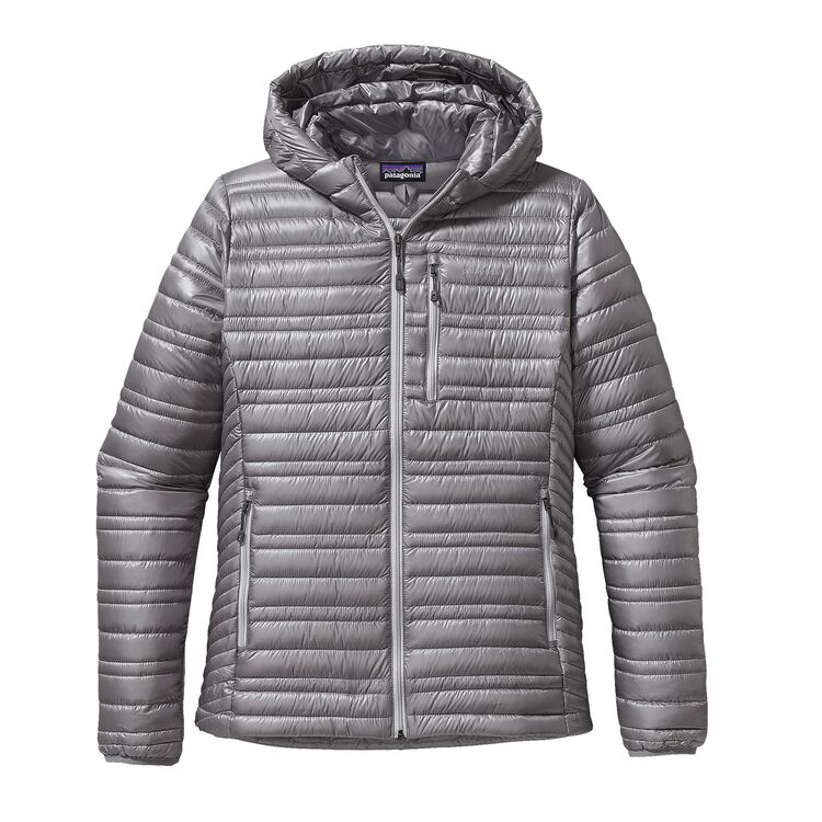 W'S ULTRALIGHT DOWN HOODY, Feather Grey (FEA)