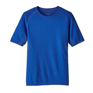 M's Short-Sleeved Slope Runner Shirt, Viking Blue (VIK)