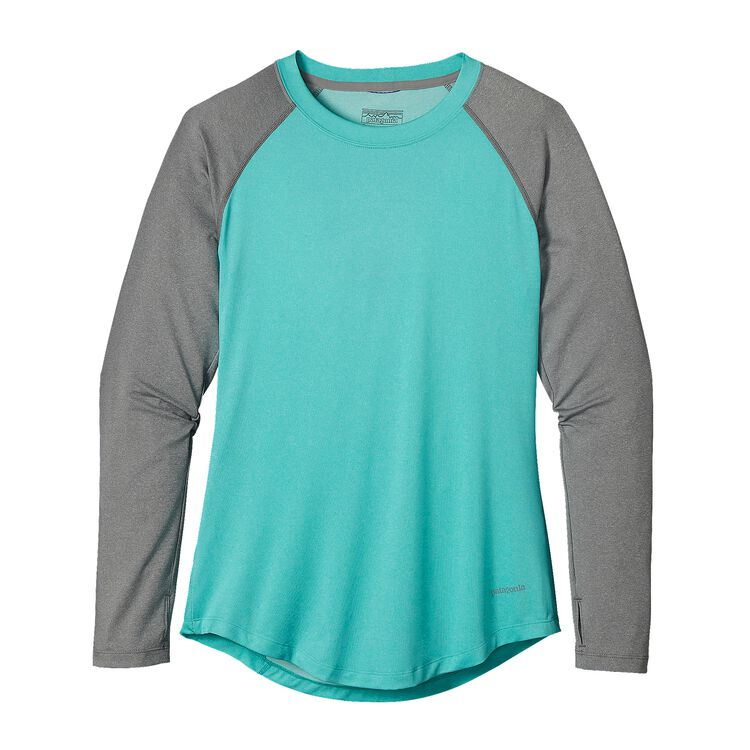 W'S TROPIC COMFORT CREW, Howling Turquoise (HWLT)