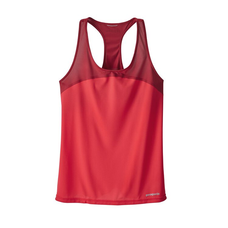 W'S WINDCHASER SLEEVELESS, Maraschino (MRC)
