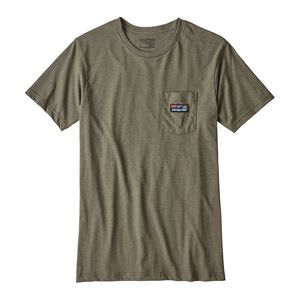 メンズ・ボード・ショーツ・ラベル・コットン/ポリ・ポケット・Tシャツ, Industrial Green (INDG)