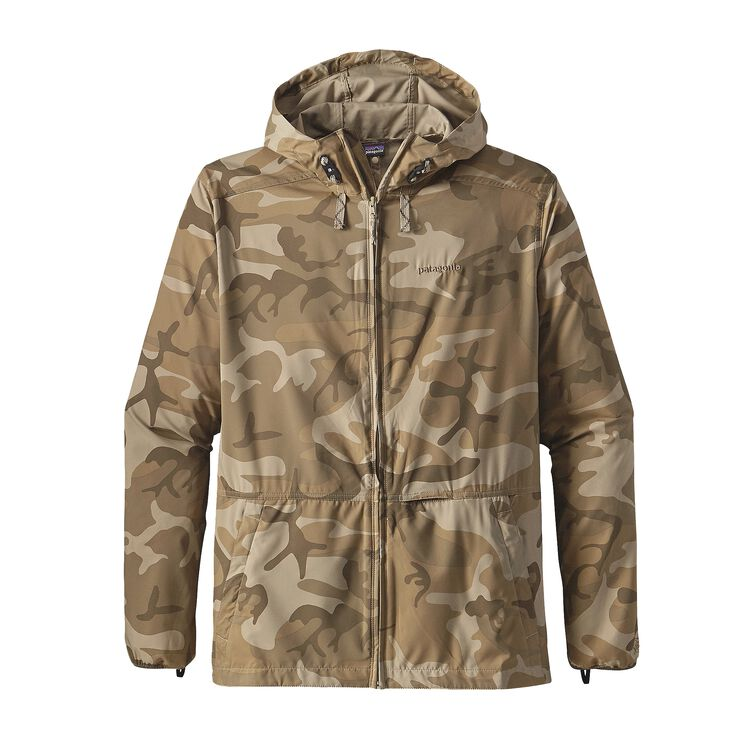 M'S STRETCH TERRE PLANING HOODY, Forest Camo: El Cap Khaki (FCPK)
