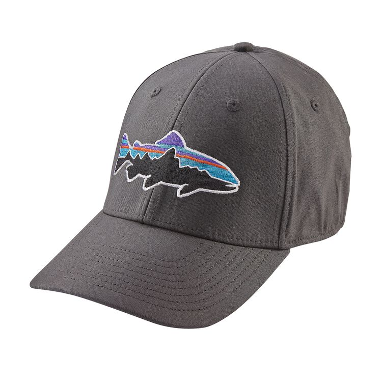 FITZ ROY TROUT STRETCH FIT HAT, Forge Grey (FGE)