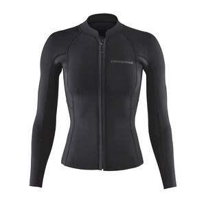 W's R1® Lite Yulex™ Long-Sleeved Top, Black (BLK)