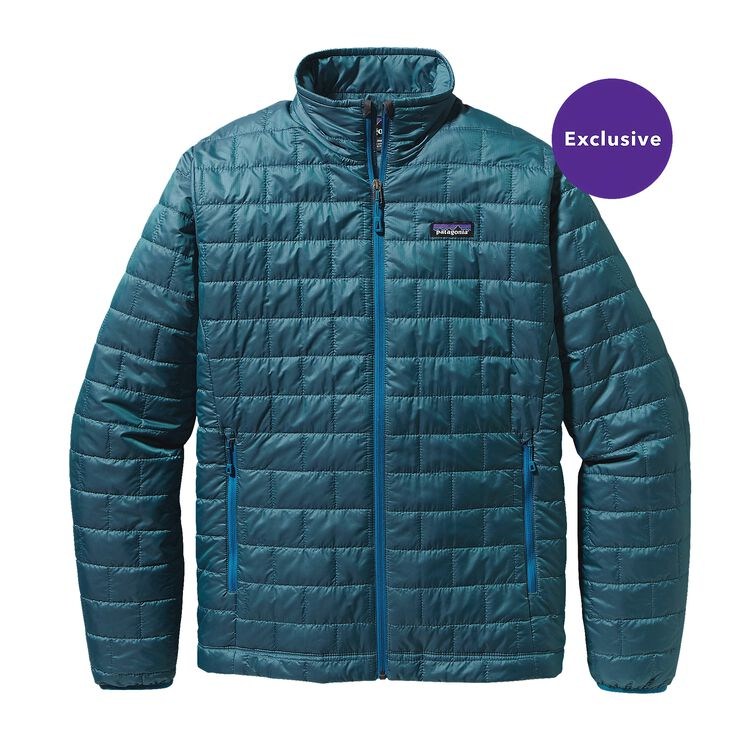 M'S SPECIAL EDITION NANO PUFF JKT, Crater Blue (CTRB)