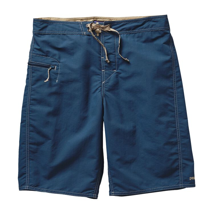 M'S SOLID WAVEFARER BOARD SHORTS - 21 IN, Glass Blue (GLSB)