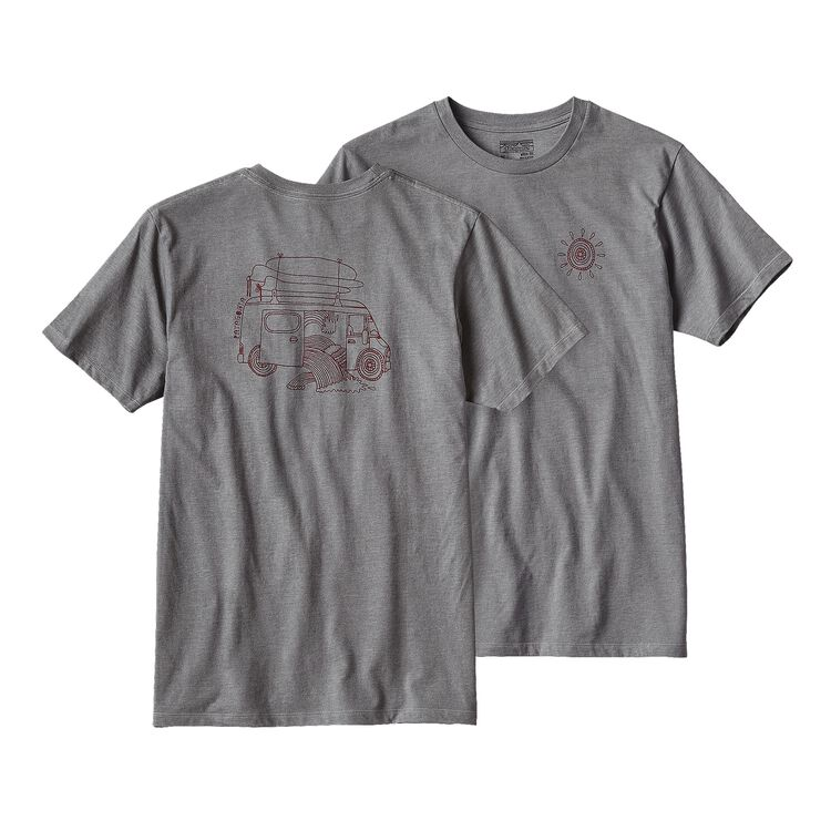 M'S SURF VAN COTTON/POLY T-SHIRT, Narwhal Grey (NHG)
