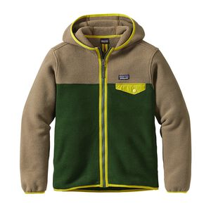 Boys' Lightweight Synchilla® Snap-T® Hoody, Glades Green (GLDG)