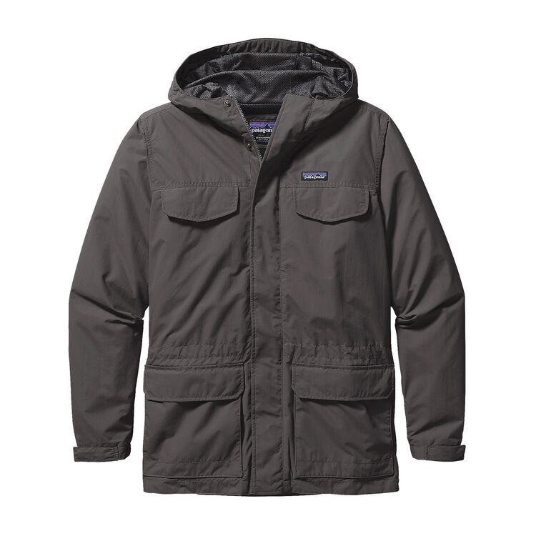 M'S BAGGIES PARKA, Forge Grey (FGE)
