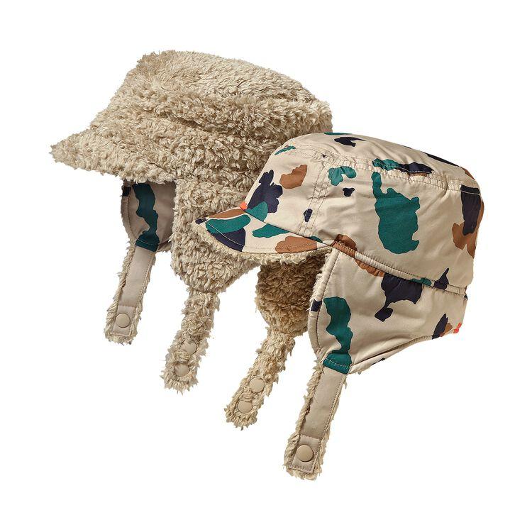 BABY REVERSIBLE SHELL HAT, Camo-Pop: El Cap Khaki (CMEK)