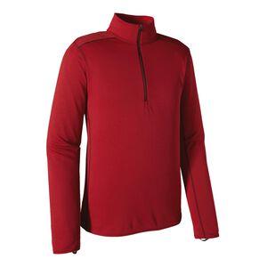 メンズ・キャプリーン・ミッドウェイト・ジップネック, Classic Red - French Red X-Dye (CFRX)