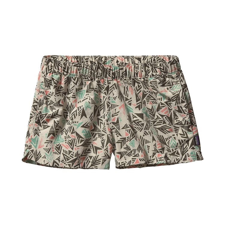 W'S BARELY BAGGIES SHORTS, Quiver & Quill: Bleached Stone (QVBS)