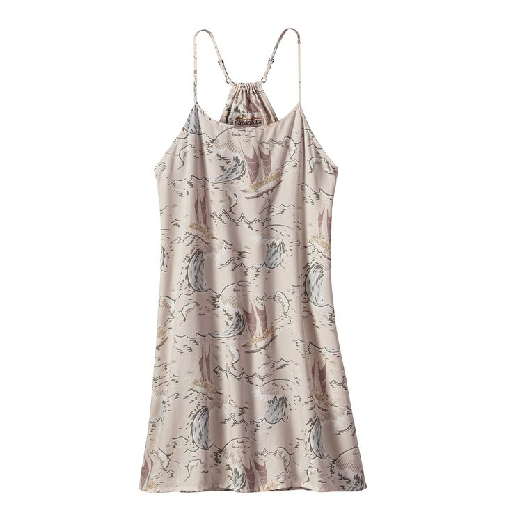 W'S LIMITED EDITION PATALOHA DRESS, Voyage: Pelican (VYGP)