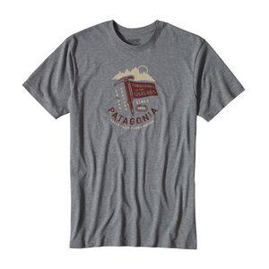 メンズ・ C.O.T.U.・フラグ・コットン・Tシャツ, Gravel Heather (GLH)