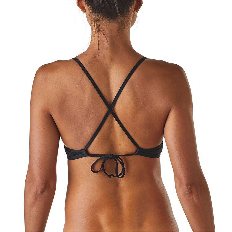 W's Solid Kupala Cross Back Bikini Top,