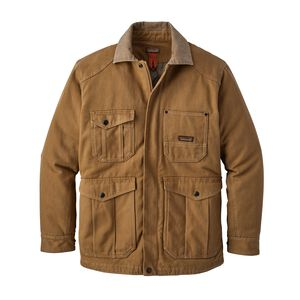 M's Iron Forge Hemp™ Canvas Barn Coat, Coriander Brown (COI)